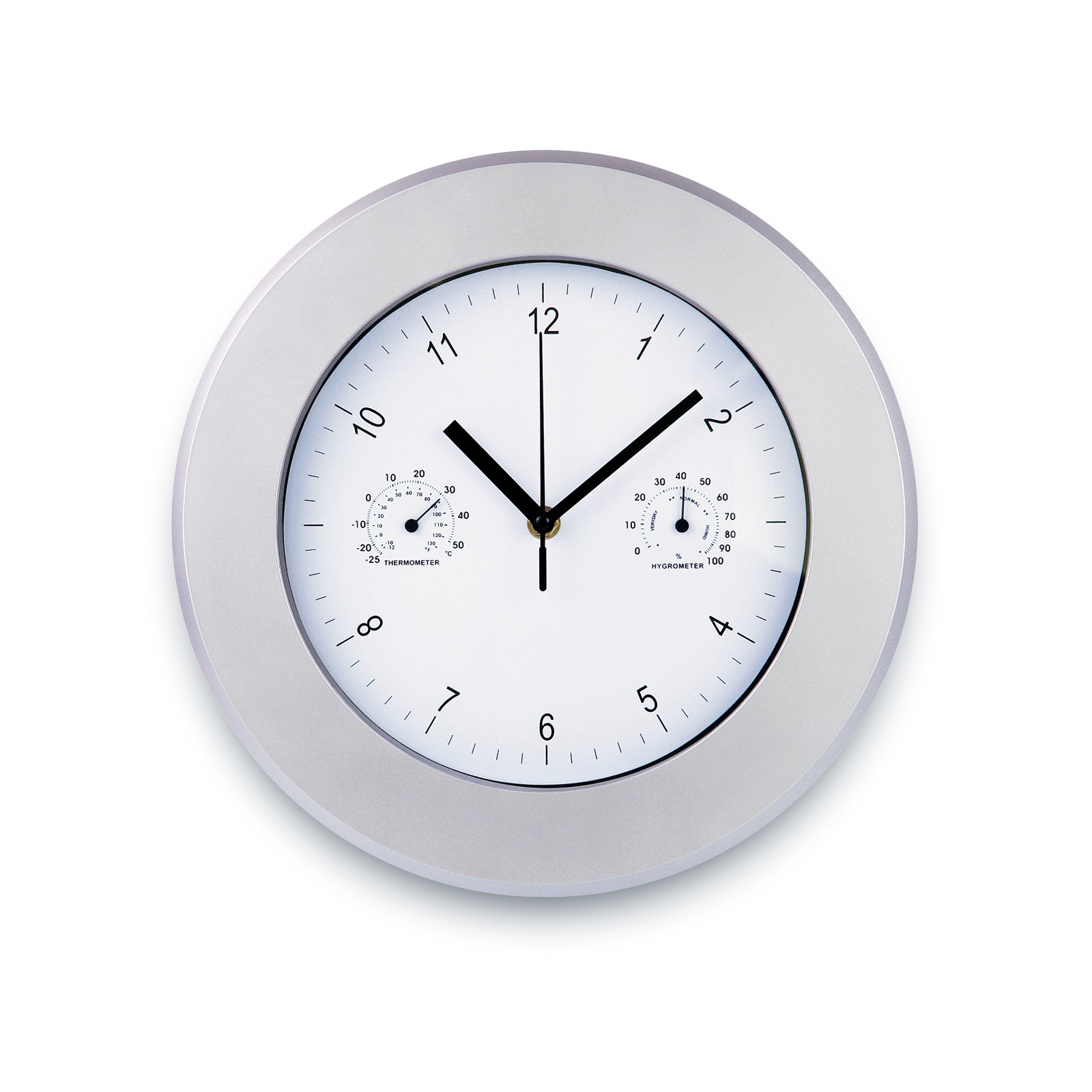Acd - Ρολόι τοίχου με ενσωματωμένο θερμόμετρο   υγρόμετρο 022011 27330c6ee4a